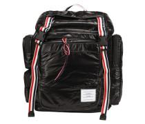 Rucksack mit dreifarbigen Streifen