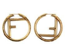 Ohrringe Logo F