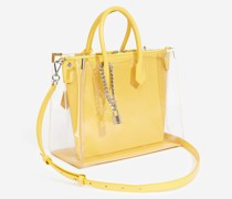 Tasche Maxi Ming transparent Leder