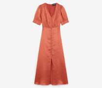 Langes Kleid aus Jacquard