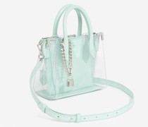 Tasche Medium Ming transparent Leder
