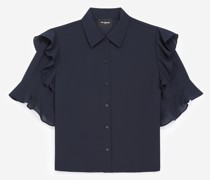 elegantes Hemd mit Volants