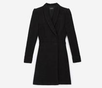 Tweed-Kleid im Jackenstil