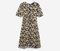 Kurzes Kleid in mit Print