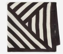 Halstuch aus Wolle mit Streifen