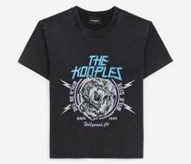 T-Shirt Baumwolle mit Tiger-Print