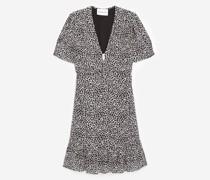 Kurzes Kleid mit Reißverschluss