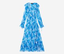 Kleid lang Blumenprint