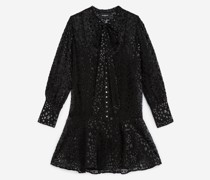 Kurzes Kleid Sternprint