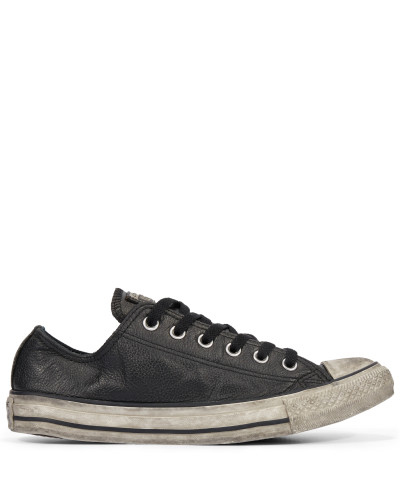 Chuck Taylor All Star Vintage Leather Low Top Black