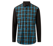 Jacobs Graphic Check Poplin Stretch Shirts