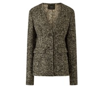 Jeranne Granite Tweed Jacket
