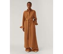 Silk Wool Flannel Dress