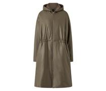 Cocon Nappa Leather Coat