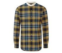 Techno Wool Check Shirt