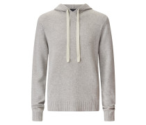 Pure Cashmere Knit Hoody