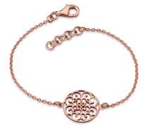 Armband Ornament Silber roseveret 16 + 2cm ERB-ORNA-R