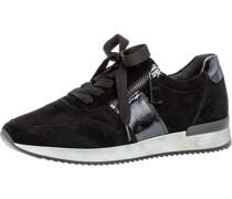 Sneaker, Rauleder, Reißverschlussackdetails,