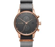 "Armbanduhr ""Voyager-Graphite"" MV01-RGGR2, Chronograph"