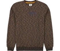 Sweatshirtelange, Rundhals, Print,