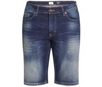 Jeans Bermuda, Taschen, Baumwolle,
