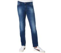 Jeans, modern-fit, 5 Pocket, Hi-Flex,