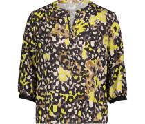 Bluse, 3/4 Arm, Animal-Printeopard,