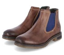 "Chelsea Boots ""Cecco""eder, Wechselfußbett, Used-Look,"