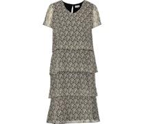 Kleid, rückwärtiger Schlüssellochausschnitt,