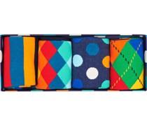 Socken im 4er-Set, mit Geschenkbox