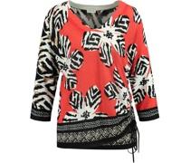 Shirt, 3/4-Arm, Binde-Detailustermix,