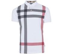 Poloshirt, Kurzarm, Blockstreifen,
