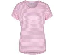T-Shirt, Rundhalsausschnitt, Ringel,