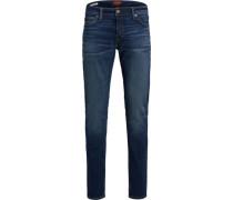 Jeans, 5-Pocket, Slim Fit, Waschung,