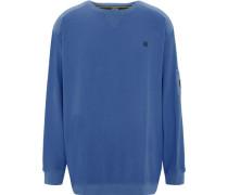 Sweatshirt, Übergröße, Oberarm-Tascheogo-Stitching,