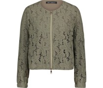 Jacke, All-Over Muster, Floral,