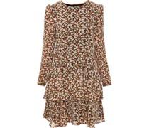 Kleid, kurzangarm, Volants,