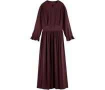 Kleid, gerüschte Bündchen,