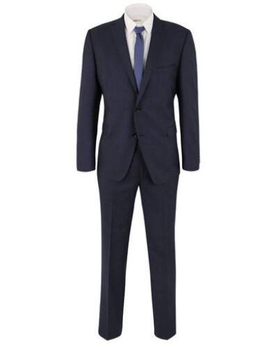 """Anzug """"Adonis"""", Regular Fit, Schurwolle, Reverskragen, Einreiher"""