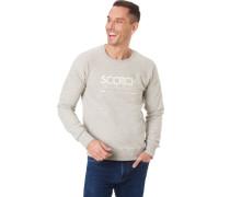 Sweatshirt mit Front-Print, Rippbündchen,