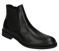 Chelsea Boots, Glattleder, uni