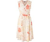 Midi-Kleid, floral, Wickellook,