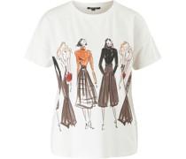 T-Shirt kurzarm, Print,