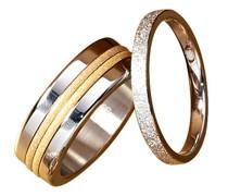 Ring-Set , stahl/