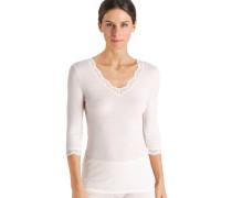 """Wäsche-Shirt """"Woolen Lace"""", Spitze, 3/4-Ar"""