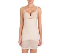 Contruelle Silhouette Collection Shaping-Kleid, florale Struktur,