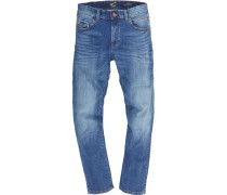"Jeans ""Houston"", Straight Fit, Waschung, Falten-Details,"