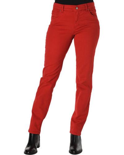 Hose, Gürtelschlaufen, figurbetont, für Damen