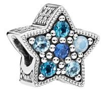 "Charm Leuchtender Stern ""796379NSBMX"", 925er Silber mit Kristall"