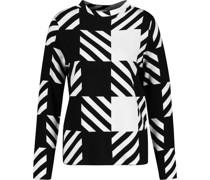 Pullover, Rippstrick, Streifen,